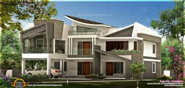 Custom Modern Home Plans by Unique Contemporary Luxury House Kerala Home Design And