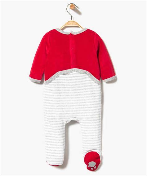 dors bien petit loup pyjama dors bien en velours ray 233 motif loup g 201 mo