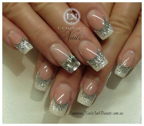 beautiful glitter nail art design for elegant nail top 60 gorgeous glitter acrylic nails