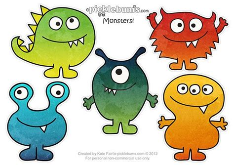 printable monster notecards 262 best images about monster na pinterestu omalov 225 nky