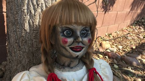 annabelle doll 1 annabelle doll 1 1 scale replica prop