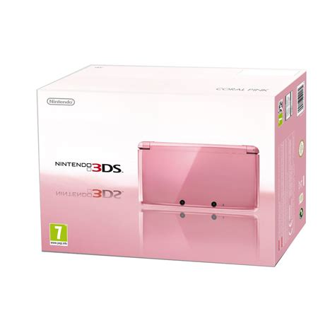 3ds console cheap cheapest 3ds all colours including pink 3ds 163 124 99