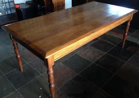 8 Seater Dining Room Table Dining Suites Yellow Wood 8 Seater Dining Room Table For Sale In Johannesburg Id 218462052