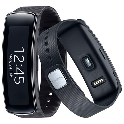 Samsung Smartwatch Fit Smartwatch Samsung Galaxy Gear Fit R350 Nacional Preto