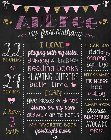 best 25 first birthday board ideas on pinterest first