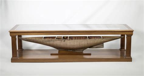 custom made coffee tables custom made coffee table with antique pond yacht model for