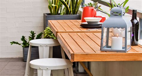 Diy Breakfast Bar Table How To Build A Foldaway Breakfast Bar Diy Gardening Craft Recipes Renovating Better