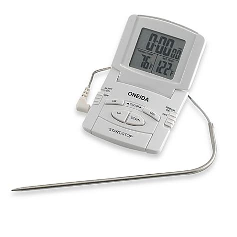 Laris Termometer Digital With Probe oneida 174 digital probe cooking thermometer with timer bed