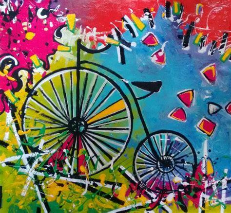 cuadros de bici obras y cuadros decorativos arte moderno bicicletas bs