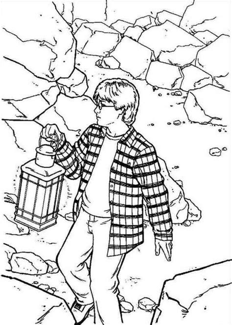 harry potter coloring book look inside harry potter free colouring pages