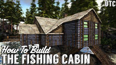 ragnarok fishing cabin ark building tutorial  mods