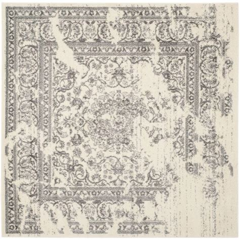10 ft square wool rug safavieh soho light grey ivory 10 ft x 10 ft square area