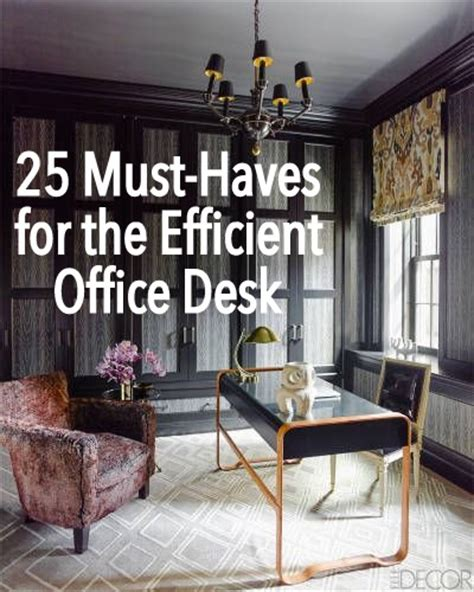 Must Haves For Office Desk 25 Must Haves For The Efficient Office Desk The Simply Luxurious 174