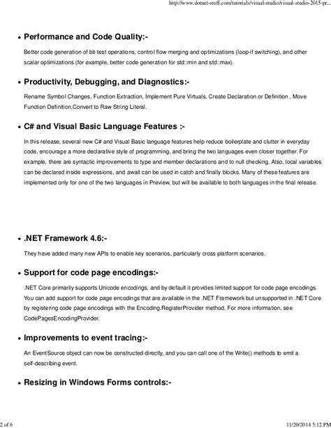 tutorial android visual studio 2015 tutorials visual studio visual studio 2015 preview comes