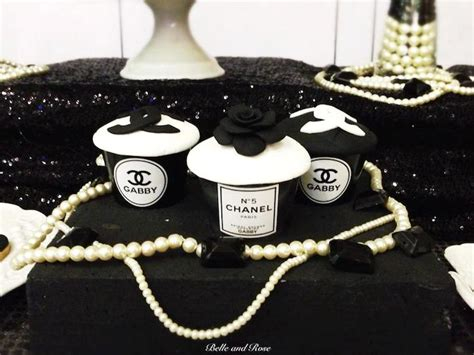 chanel inspired home decor chanel inspired bridal shower via kara s party ideas