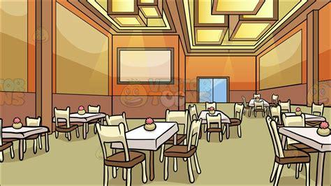cartoon dining room a restaurant dining room background cartoon clipart vector toons