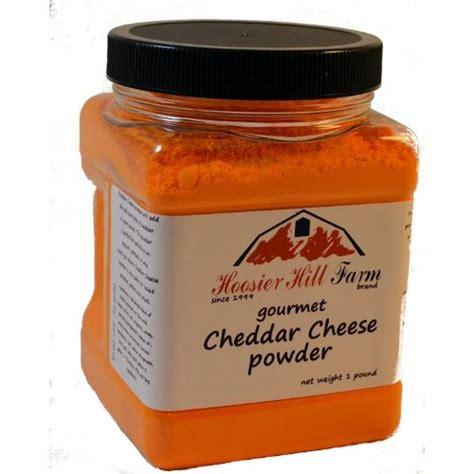 Cheese Powder Cheddar Cheese Powder By Hoosier Hill Farm 1 Lb