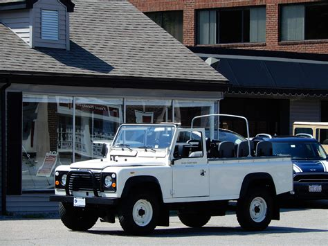land rover defender convertible 1985 land rover defender 110 convertible copley motorcars