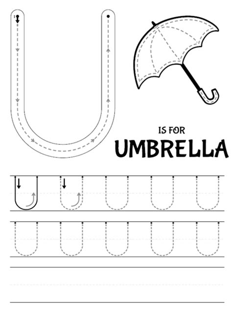letter u tracing printable common worksheets 187 letter u worksheets preschool