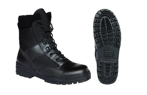 kombat boots black 1 2 leather army surplus