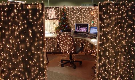 christmas decoration in an office setting 15 cubicle decorating ideas to bring in some cheer new times
