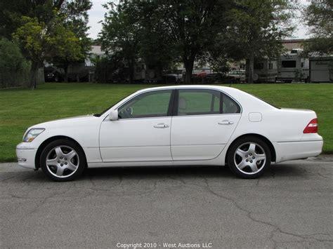 lexus auction west auctions auction 2006 lexus ls430 sedan item 2006
