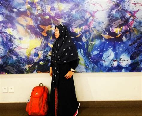 Tas Ransel Muslimah Proud To Be Muslimah Cokelat pakaian casual untuk muslimah uwien budi