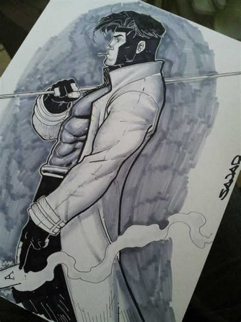 how to use gambit gambit using copic markers by sajad126 on deviantart