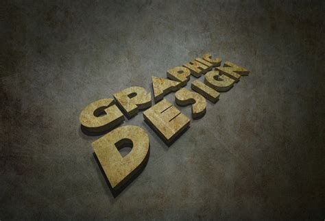 grungy 3d text in illustrator design panoply 20 best 3d typography tutorials part 1 savedelete