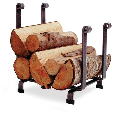 enclume 174 hearth log rack 226496 hearth accessories at