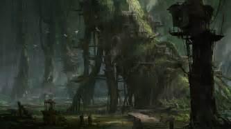 Bedroom Key Dragon Age khang le nature landscapes trees forests fantasy world