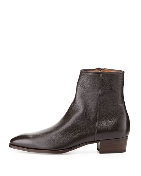 Ankle Zip by Mens Ankle Zip Boots Boot Hto
