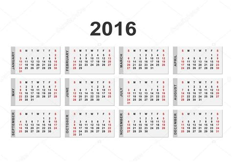 new year 2016 2 weeks 2016 년 배경 달력 스톡 벡터 169 forden 80704014