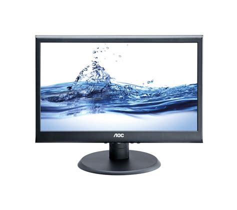 Monitor Komputer Led Aoc aoc e2050s 20 quot led backlit monitor desktop pc compatible wall mountable ebay