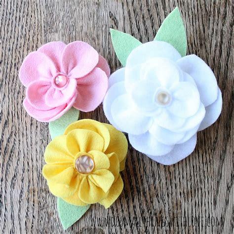 imagenes flores de tela 5 ideas de flores de tela diy que vas a querer hacer