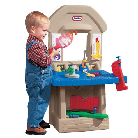 little tikes tool bench workshop vhtf new little tikes home improvement 2 sided