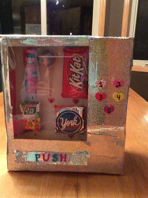 out of the box valentines day ideas vending machine box s st