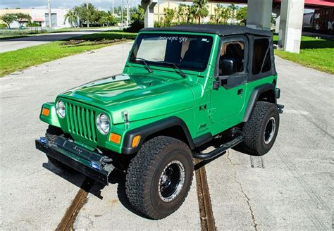 Lime Green Jeep Wrangler For Sale Purchase Used For Sale 2004 Jeep Wrangler Electric Lime