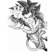 Comment Dessiner Goku Ssj4