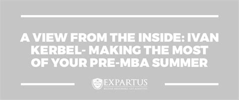 Pre Mba Means pre mba summer program designed to ease the transition
