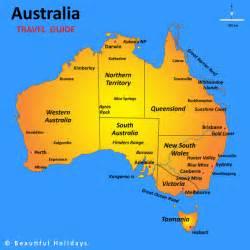 regional map of australia australia map highlighting popular travel regions