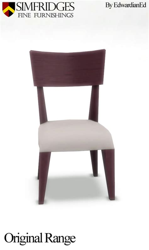 Mod The Sims Mount Of Comfort Dining Chair By Edwardianed Comfort Dining Chairs