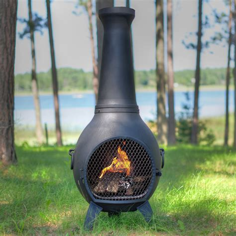 Chimera Stove Prairie Cast Iron Chiminea