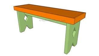 Simple Garden Bench Plans Free Diy Woodworking Plans Visio Aji