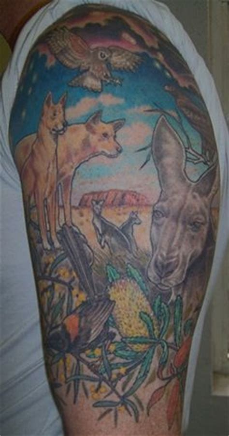 aussie kangaroo tattoo design by gbftattoos on deviantart 1000 images about inspiration on