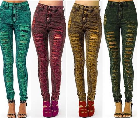 light colored skinny jeans jeans acid wash jeans light color jeans ripped jeans