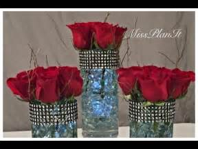 Candle Holder Vase Centerpiece Diy Dollar Tree Wedding Centerpiece Vase For 2 00 Youtube