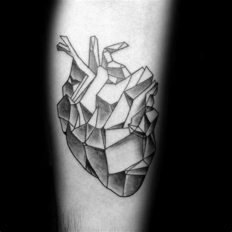 geometric tattoo popularity 67 popular geometric heart tattoo ideas designs about