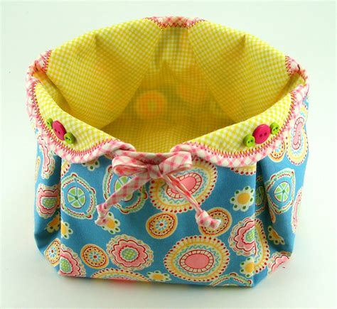 pattern for fabric easter basket fabric basket pdf sewing pattern tutorial with different