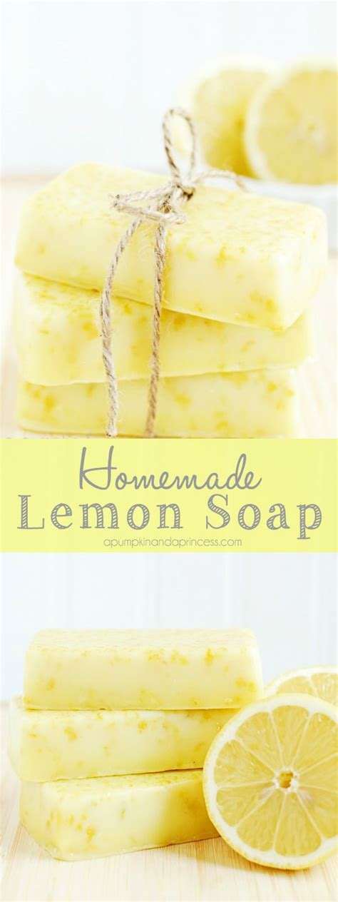 Handmade Lemon Soap - how to make lemon soap this lemon soap smells